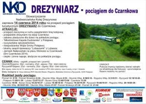 pociag_drezyniarz-plakat_oborniki_rogozno_ryczywo_polajewo