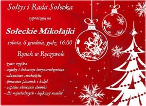 plakat mikołajki 14